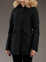 Wholesale women s silk velvet jackets - Women's Artie Parka LONG WINTER Down & Parkas WITH FUR HOOD Snowdome jacket Brand Real Raccoon Fur Collar White Duck Outerwear & Coats