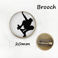 Wholesale Rowing Race - Novelty horseback riding pins sports silhouette equestrian brooches horse race rowing Scuba diver swimming surfing badge