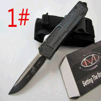 Microtech blade survival - HIght Recommend microtech scarab models optional Hunting Folding Survival Knife Xmas gift for men A161 A162 A163 freeshipping