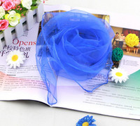 ... 60 cm 70   70 cm petit carré écharpes imité soie mousseline de soie  couleur unie danse spectacle nouveau bonbons couleurs coupe-vent femmes  écharpes 884a25466da