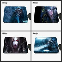 Ordinateur Portable Tapis De Souris Pas Cher Pas Cher-Cheap Game Characters King Impression professionnelle Custom Laptop Fashion Non-slip Rubber Rectangular Game Mouse Pad