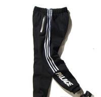 Wholesale Loose Sweatpants - Pants PAlace Skateboards Sport Pants men Hip Hop High Quality Fashion Triangle Palacio Autumn Sweatpants