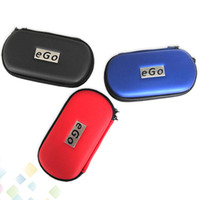 Wholesale ego leather cases resale online - Hottest Ego Case with Zipper L M S Size Box Ego Bag for Electronic Kit Cigarette Ego Carrying Case