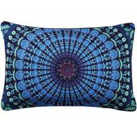 cojines de almohada personalizados al por mayor-Fundas de cojines de impresión Sofá Nueva Llegada Rectángulo Personalizado Funda de Almohada Decorativa Funda de Almohada Funda de Almohada Textiles para el Hogar 2017
