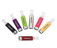 Wholesale Ego Cigaret - 10pcs MT3 EVOD atomizers 2.4ML Tank Electronic Cigarettes Vape Pen Rebuildable Buttom Coil Vaporizer Ecig For EGo TEVOD Batteries E-Cigaret