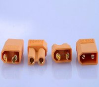 Wholesale Helicopter Bullet - by dhl fedex 500 Pairs XT30 Male Female Bullet Connectors Plugs For RC Battery airplane Motor