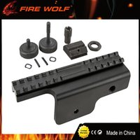 Wholesale Side Mounted Scope Mount Rail - FIRE WOLF New Tactical Gen 4-Point Locking Rail System Hunting Side M14 Scope Mount Sight Support