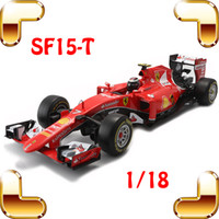 Wholesale Formula Car Model - New Year Gift SF15-T 1 18 Metal Model Cars Formula Car Collection Toys House Decoration Alloy Huge Vehicle Present Big Racer Toy