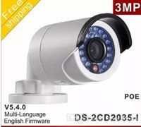 HIKVISION DS-2CD2035-I 3MP HD POE Bullet IP66 Home Security Netzwerk IP Kamera 6mm Objektiv