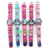 Wholesale Most Bought - The most popular new lots of 10 pcs cartoon watches kids lovely children Wristwatches buy free shipping now