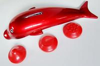 dolphin stick toptan satış-Mini tip elektrikli masaj sopa masaj yunus masajı çekiç
