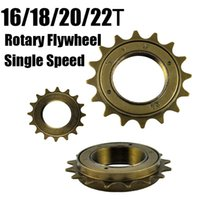 Wholesale Hot Sale Bicycle Free Fixed Gear wheel T T T T Single Speed Fly Wheel Tooth Rotary Free Wheel quot Width