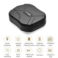 Wholesale gps realtime tracker - TK905 Realtime Tracking System Waterproof Long Standby 90 days GPS AGPS Positioning Locator GPS Tracker with Powerful Magnet