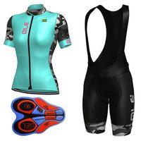 Wholesale Bike Women Cycling Set Shorts - 2017 ALE Summer Women Cycling Jersey Sets Short sleeve Breathable Cycling Clothing Mountain Bike Clothes Sport Wear Uniforms E1301