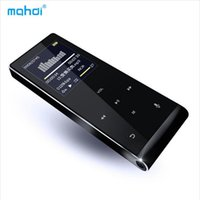 Wholesale Mp3 Touch Watch - Wholesale- Bluetooth HIFI Touch Key MP3 Music Player 8G Multi-language Shatterproof Scratch Resistant Recorder E-Book Video Player