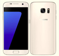 Wholesale Mobile Inches - Refurbished Original Samsung Galaxy S7 G930F G930A G930T G930P G930V Unlocked Mobile Phone Octa Core 4GB 32GB 5.1 Inch Android 6.0