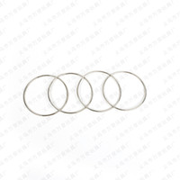 Wholesale Chain Ring Tricks - 10cm Four Chain Chinese Ring Close-Up Magic Trick Props Close Up Magic Classic Toys