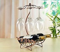 Wholesale Glass Wine Cabinet - Wine Rack Home Decoration Modern Living Room Wine Cabinet Wedding Decor Gift Wine Glass Holder