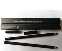 lápis de olho de caixa venda por atacado-PRESENTE LIVRE! NOVO Eyeliner Lápis Olho Kohl Preto 'Com Caixa (10 PÇS / LOTE)