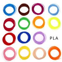 Wholesale Abs Pla Filament - 20 color set 3D Printer Pen Filament ABS PLA 1.75mm Plastic Rubber Consumables Material 3d pen filament Wholesale Price