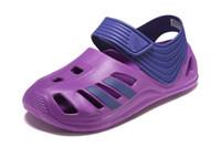 Wholesale Thong Beach Slides - 2017 new many colors clogs Leather Brand New kids Thong Sandals Summer Women Beach Sandals Famous Flip Fllopssize 22-35
