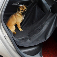 Wholesale Dog Cat Car Seat Cover - NEW Pet Car SUV Van Back Rear Bench Seat Cover Waterproof Hammock for Dog Cat DHL