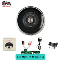 Wholesale Resistance Check - Original Coil Master 521 Plus Tab for test the battery output and voltage checking each coils resistance value