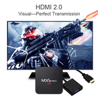 Wholesale Tv Hdmi Sale - Factory Sale MXQ Pro 4K Android 6.0 TV Box RK3229 Quad Core 1GB 8GB Set Top Box Fully Loaded KD16.1 Jarvis