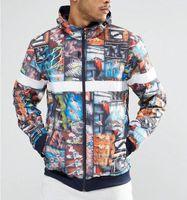 Wholesale Hip Ad - Casual SEASON Purpose tour both side Jackets Men Women Outerwear Kanye hip hop West bomber Jackets Windproof Uniform Coats Yeezus ADS jacket
