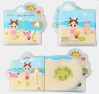Wholesale Baby Bath Book - NEW Waterproof Baby bath Book Development Infant Cloth Books Learning Educational Toys help for Children bath