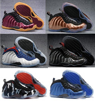 Wholesale Cow Fleece - New Hardaway Gold Dirty Copper Night Maroon Olympic Men Basketball Shoes Fleece Island Green Dr Doom Silver Surfe Sneakers With Box