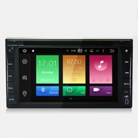"Wholesale Chinese Car Stereo Systems - 6.2"" 2G RAM Octa-core Android 6.0.1 System Double Din Car DVD Player GPS Navi Stereo RDS WIFI 4G BT4.0 4K Video Radio OBD 173*98mm Panel"