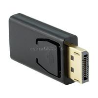 ingrosso cavo adattatore femmina hdmi maschio dvi-Porta per display standard nichelato DisplayPort DP Adattatore per cavo maschio a HDMI femmina Adattatore video 1080P