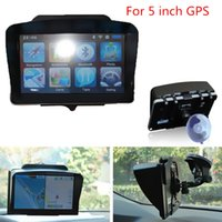 Wholesale Car Inch Gps Holder - Car Auto Vehicle for 5 Inch GPS Navigation Universal Sunshade Black Hooks & Holders Interior Accessories CIA_506