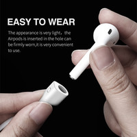 Wholesale Ear Loops - 2017 Headphone Earphone Strap For Apple Airpods Anti Lost Strap Magnetic Loop String Rope For Air Pods Silicone Cable Cord