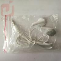 phones company venda por atacado-Presente da empresa Mini Portátil In-ear Fone de Ouvido Fone de Ouvido MP3 Player Fone de Ouvido Barato para o Leitor de Música do Telefone Móvel Com Saco de OPP 500ps / lote