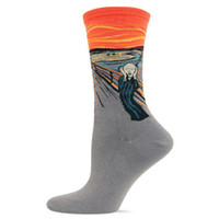 Wholesale Vincent Wholesale - Wholesale- 2016 new hot! Women Classic Painting Collection Vincent van Gogh The Starry Night Artwork Casual Art Crew Sock MH1