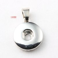 Wholesale Hot Sale High Quality Pendant Of Necklace Fit mm mm Snap Button Jewelry