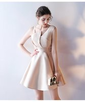 Wholesale Cheap Mini Peplum Dresses - 2017 Cheap Cocktail Dresses Model Pictures Scalloped Short Mini A Line Short Homecoming Dresses Prom Party Gowns Custom Made