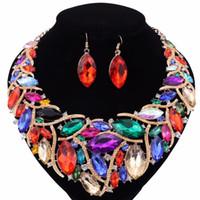 062d1c250df0 Venta al por mayor de Bisutería Conjuntos De Collar Aretes - Comprar ...