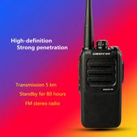 walkie militaire achat en gros de-Voiture professionnelle talkie-walkie civile 5W talkie-walkie portable haute puissance 50 mini-non-militaire