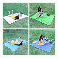 Wholesale Beach Carpet Outdoor Mat Collapsible Mat Picnic Mat Waterproof Oxford Cloth Pocket Picnic Cloth Fixed Type Prevent Breakage