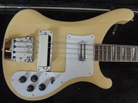 Wholesale Electric Guitar Ric - Wholesale- RIC custom bass guitar Cream color 4003 electric bass guitar Set-in neck cream binding classical style low cost