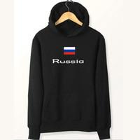 ingrosso giacche a spazzola-Felpe con bandiera della Russia Felpe con bandiera della squadra Abbigliamento in pile nazionale Felpe pullover Cappotto sportivo da esterno Giacche spazzolate