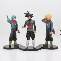 Wholesale Dragon Ball Z Vol - Dragon ball Z DBZ SSY DXF Trunks Black Goku PVC Figure Juguetes Brinquedos Dolls Toys Vol.2