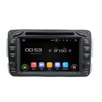 Wholesale Dvd Gps For C Class - Quad Core Android 5.1 Car DVD GPS For BENZ ML W163 CLK W209 C-Class W203 SLK W170 E-Class W210 A-Class W168