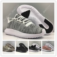 Cheap Mens Womens Originals Tubular Shadow Knit Core Preto Branco Cardboard mens Running Shoes para mens 350 Sneakers boost tamanho 3D US 5-11