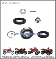Wholesale STEERING SHAFT KIT Included NSK BEARING Oil seals and Circlip FOR HONDA TRX420 TRX500