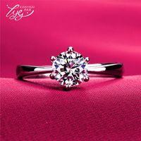 Wholesale Diamond Ring Solitaire 14k Gold - Hot classic fashion zircon diamond ring Free deliver cheap and fine