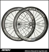 Wholesale Bike Wheels Road Full Carbon - Hot sale Roval wheels 60mm wheelset Powerway carbon hubs full carbon road bicycle bike wheels free gifts